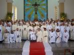 Com o clero de Anápolis