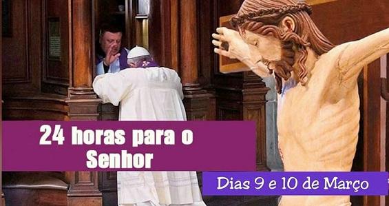 """Diocese realiza a iniciativa """"24 Horas para o Senhor"""""""