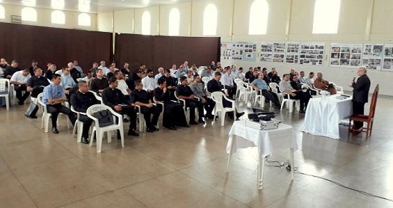 Primeira reunião do Clero da Diocese de Anápolis, em 2018
