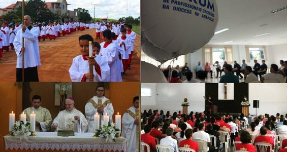 A Diocese de Anápolis promove diversos encontros formativos