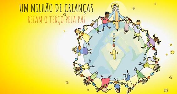 """ACN promove nesta quinta-feira """"Terço das Crianças pela Paz Mundial"""""""