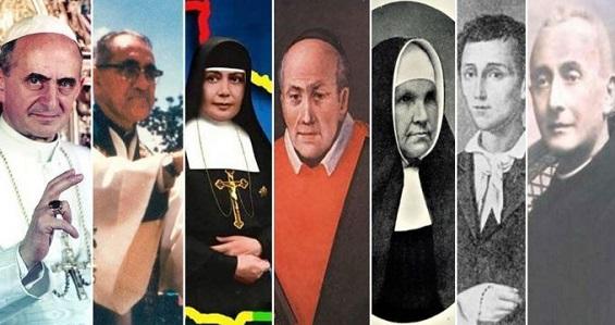 Papa Francisco canonizou Paulo VI, Dom Óscar Romero e outros cinco novos santos