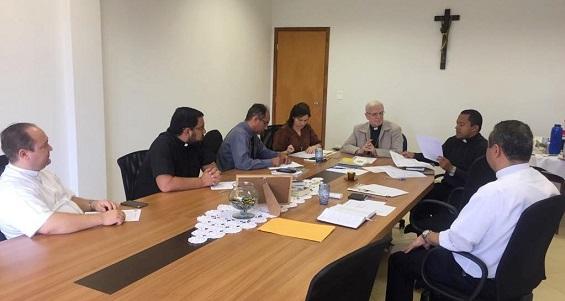 Comissão Executiva de Pastoral se reúne na Cúria Diocesana