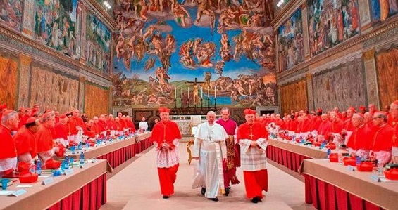 Hoje faz 6 anos da eleição do Papa Francisco