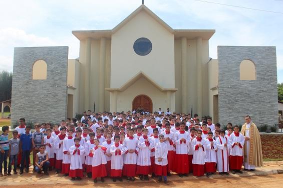 Encontro de Coroinhas e Ministrantes da Diocese de Anápolis