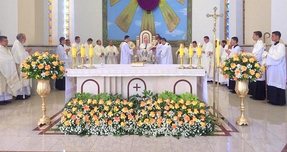 Homilia de Dom João Wilk na Missa do Crisma