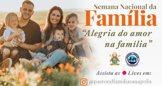 Semana Nacional da Família 2012 – Pastoral Familiar Diocesana realiza programação especial