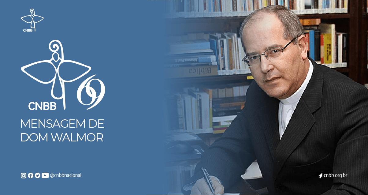 NO ANIVERSÁRIO DA CNBB, DOM WALMOR OLIVEIRA ANUNCIA ANO JUBILAR RUMO AOS 70 ANOS DA CONFERÊNCIA